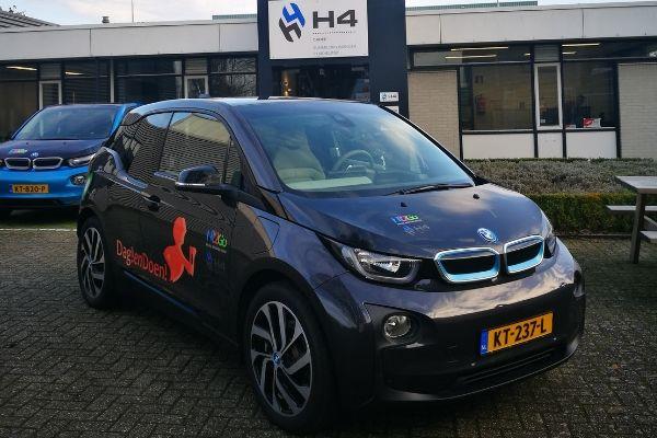 Elektrische auto Dag!endoen!