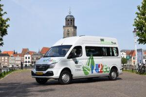 H4 Mobility Maxus EV80 100% elektrische personen/rolstoelbus